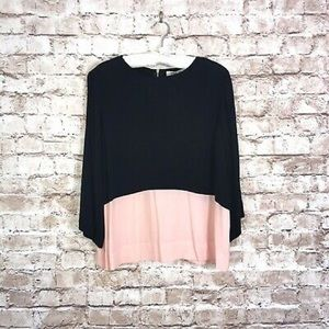 Sam and Lavi Anthropologie top xs